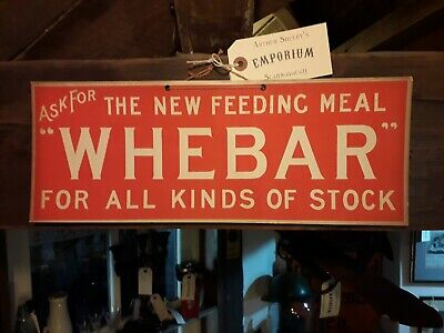 Cardboard Vintage Signs Whebar For All Kinds Of Stock Advertising Retro Farming