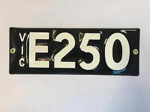 Mix Custom Number Plate South Melbourne Port Phillip Preview