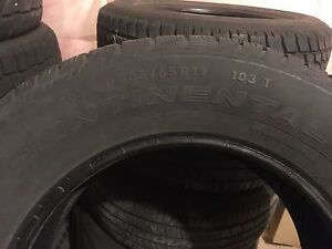 4 235/65/6 continental tires