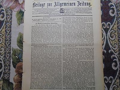 1900 Beilage...246 / Moltke 100. Geburtstag