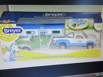 Breyer Stablemates Truck & Gooseneck Trailer set #5340, new in box