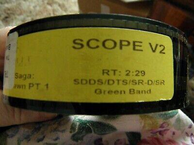 Breaking Dawn Pt 1 35mm Trailer Scope V2 Runtime 2.29 Never Run