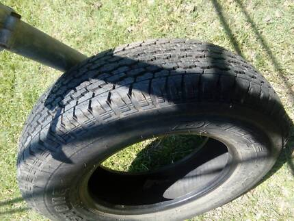 """Hilux 16"""" Rim and tyre"""