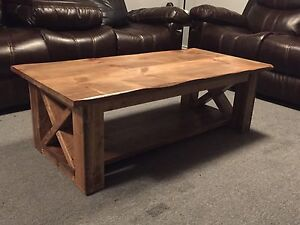 4X2 solid wood coffee table