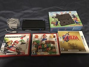 Limited Edition Nintendo 3DS with 3 games