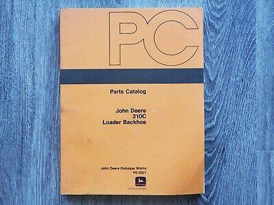 Oem John Deere 210c Loader Backhoe Parts Catalog - Pc-2031