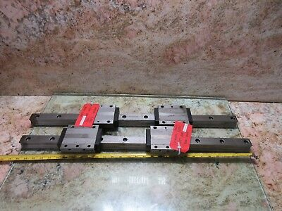 Mazak Y-axis Sqt 200 Cnc Lathe 2000 Star 30 Inch Linear Scale Guide Rail Each