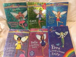Six rainbow magic books