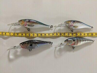 2,7 /'/' Angelköder Crankbaits Haken Crank Floating Köder Tackle Pike 7cm 9,6 g