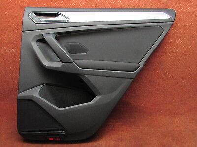 5NA867212E Türverkleidung hinten rechts titanschwarz Stoff VW Tiguan II AD1 Orig gebraucht kaufen  Nienstädt