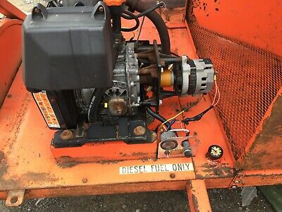 Lombardini 6ld 360 Diesel Engine Wtrailer Tested And Working