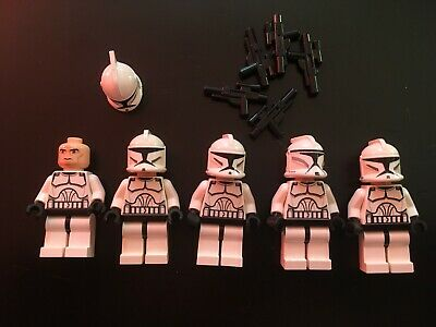 Lego Star Wars  Phase 1 Clone Troopers x 5 Minifig Minifigures (3 of 4)