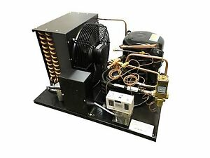 Combo Air+Water Cooled Condensing Unit 2 HP, Med Temp R404A, 220V (KM7516Z-2)