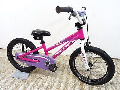 "Specialized Hotrock 16"" Mountain Bike Girls Kids 8.5"" A1 Alloy Used Working GC"