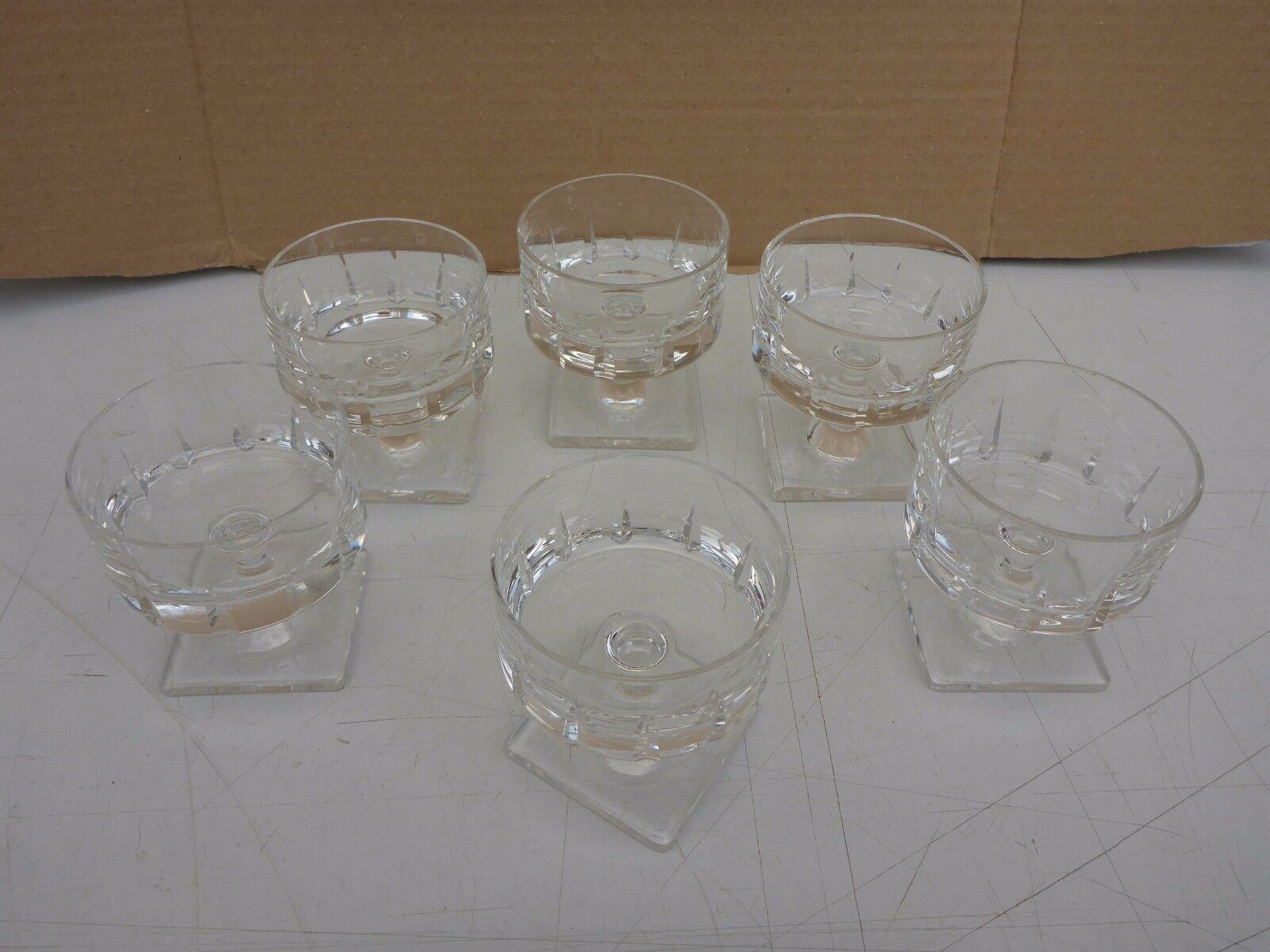 Sektglas Glas 4//18,2 cm Berlin Rauchglas Rosenthal Kelchglas Sektflöte