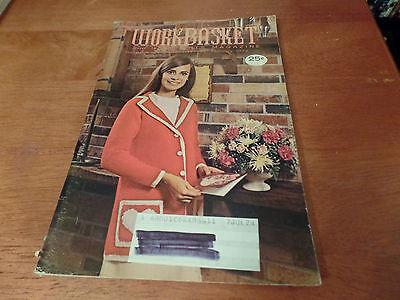 Винтажные February 1972 The Workbasket and