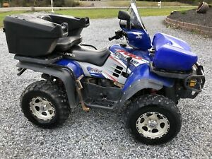 2004 Polaris Sportsman 700 Twin with plow