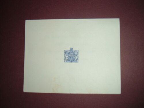 Duke and Duchess of Windsor Crested Monogrammed Note Regarding Abdication 1936