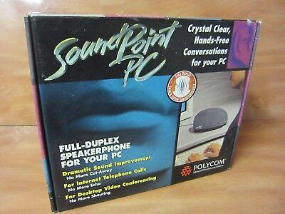 Polycom Sound Point Pc Speaker Phone. U.s Plug Nos. Free Shipping.