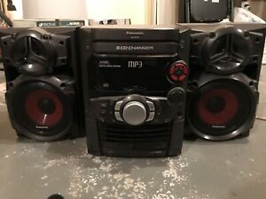 Radio Panasonic (5 cd, mp3, cassettes)