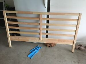 IKEA queen size bed Eight Mile Plains Brisbane South West Preview