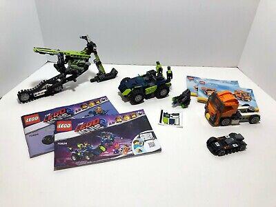 LEGO Vehicle LOT: Snowmobile 42021 + jeep 70826 + Truck 31017 + race car
