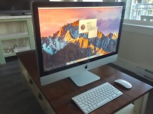 "iMac 27"" mid 2010 (trade for iPad + $, MacBook + $, or iMac + $)"
