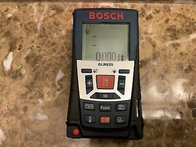Bosch Glr 825 Laser Distance Measurer Rangefinder Excellent Used Condition