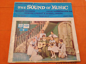 THE-SOUND-OF-MUSIC-Orig-London-Cast-Jean-Bayless-Orig-1961-Aus-Lp-MONO-G-VG
