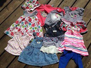 Lot de vêtements fille 9-12-18 mois