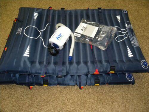 McAuley Medical Air Slide Lateral Transfer System ASA100 Pump w/ (3) Mattresses
