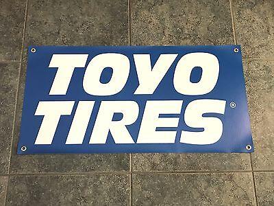 Toyo Tires banner sign shop garage racing car truck drift off-road baja drifting