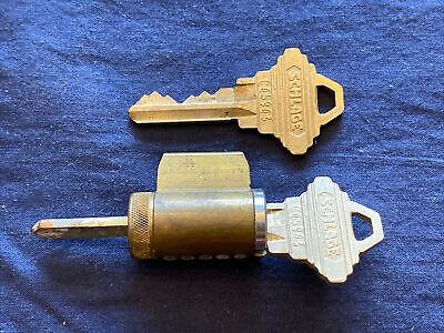 Schlage Knoblever Cylinder 626 C Keyway 2 Keys