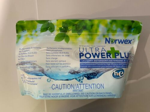 NORWEX Ultra Power Plus Laundry Detergent - HE (1- 250 G BAG)