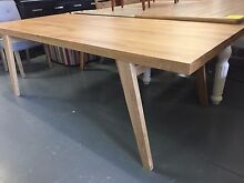 Kuiso 2.2m Full Oak Dining Table - 50% off Sale Eumemmerring Casey Area Preview