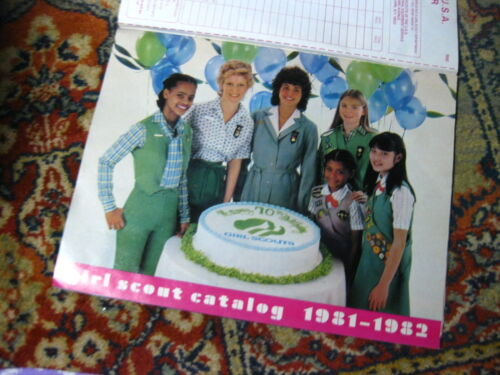 Vintage Girl Scout Catalog~1982-1982~Intact