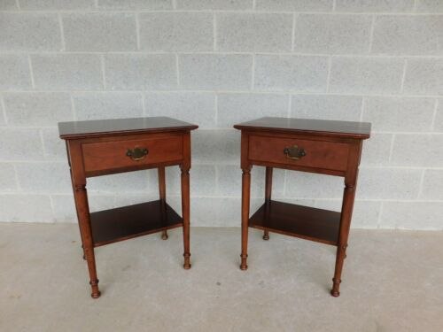 Stickley Cherry Valley Nightstands - a Pair