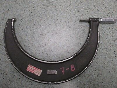 J.t. Slocomb 7-8 Outside Micrometer