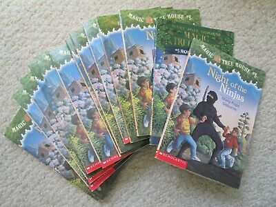 NIGHT NINJAS~Guided Reading Lot 14~MAGIC TREE HOUSE~Ancient Japan~SAMURAI WARIOR - Samurai Warior