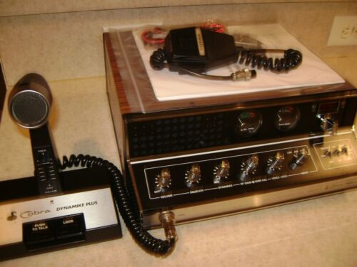 COBRA 142GTL AM/SSB CB Base Station W/Amplified CA-62 Desk Mike