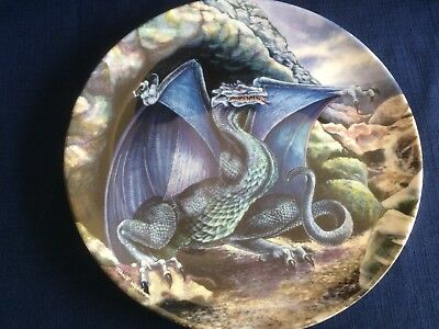 """Danbury Mint The Dragons Of Enchantica """"The Cave Dragon """" (small scratches)"""
