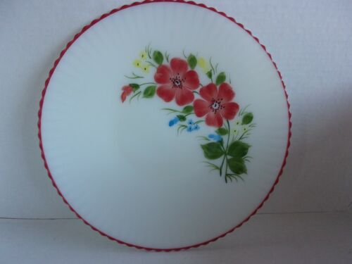 "Depression MacBeth-Evans Petalware Mountain Flowers 11"" Salver Plate"