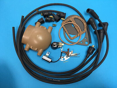 Ford 2n 9n 8n Tractor Master Ignition Tune Up Kit Points Condenser Rotor
