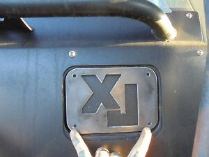 84 TO 01 CHEROKEE GAS DOOR LID SKID ARMOR COVER XJ CHEROKEE JEEP 4X4 ARMOR  (Fits: 2000 Jeep Cherokee)