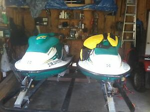 two matching sea doo one has a 800 motor the ether one has 670