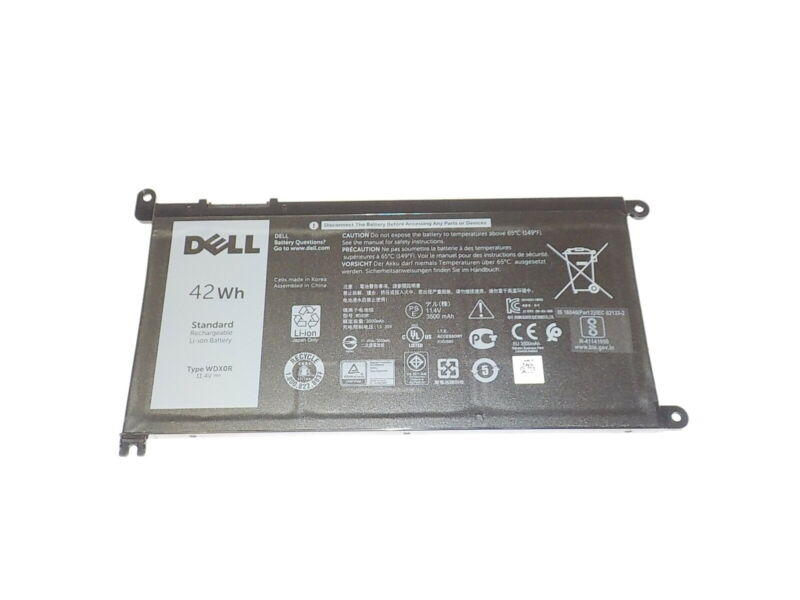 New Dell OEM Inspiron 15 (5565) / 15 (7573) 2-in-1 42Wh  Laptop Battery - WDX0R