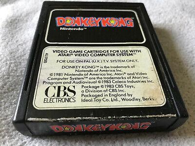 Donkey Kong / Cart Only / Atari 2600 / Tested / PAL / #2