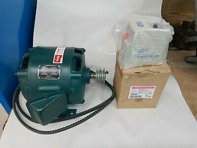 South Bend 13 Lathe Motor With Pulley New Belts New Vfd Rebuilt Never Wired