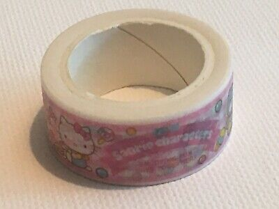 Sanrio Characters Washi Masking Tape New Hello Kitty Little Twin Stars My Melody