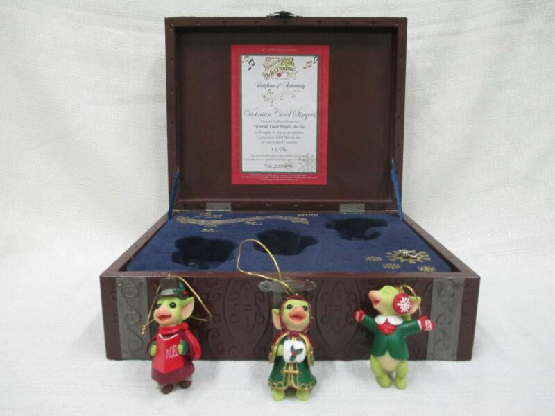 Whimsical World Of Pocket Dragons Victorian Carol Singers Do Re Mi NIB Christmas